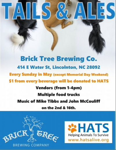 Tails & Ales @ Brick Tree Brewing Company